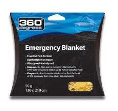 360 emergency blanket